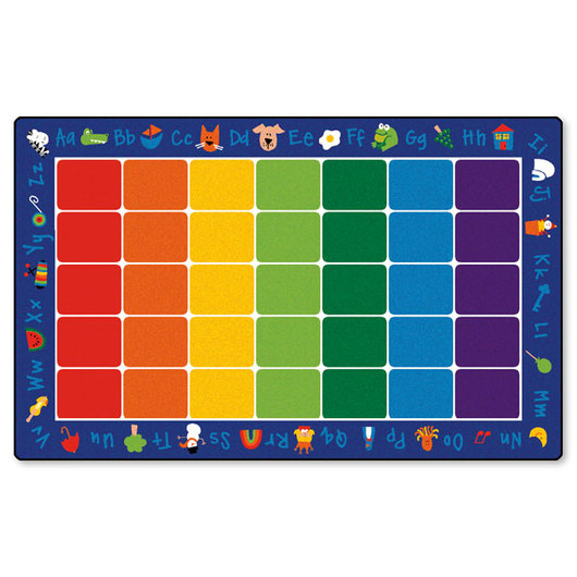Fun with Phonics Seating Carpet - 7 ft. 6 in. x 12 ft. Rectangle