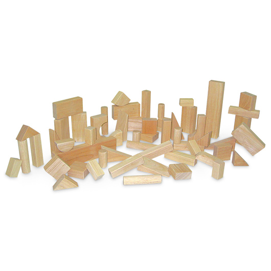 Deluxe Hardwood Block Set - 56 pcs.