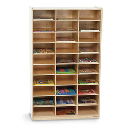 Wood Designs Deluxe Storage Center