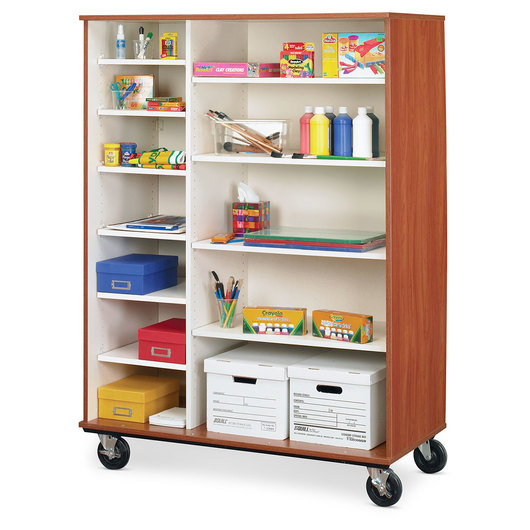 Mobile Storage Cabinet without Doors