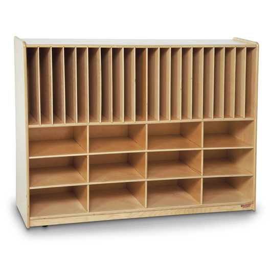 Wood Designs™ Tip-Me-Not™ Portfolio Storage Center