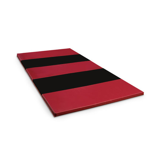 2 in. Thick Urethane Foam Mat with Hook-and-Loop on 2 Ends - Rainbow, 4 ft. x 6 ft.