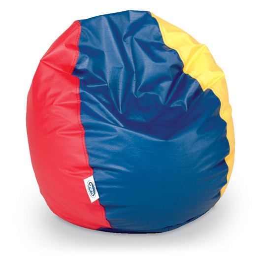Brown Sales Child-Size Beanbag Chair - Multi