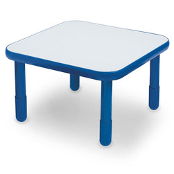 Angeles® BaseLine® 30 in. W x 30 in. L x 18 in. H Square Activity Table - Natural