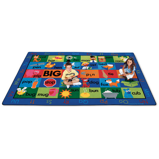 Rhyme Time Carpet - 7 ft. 6 in. x 12 ft. Rectangle