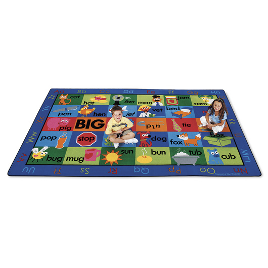 Rhyme Time Carpet - 8 ft. 4 in. x 13 ft. 4 in. Rectangle