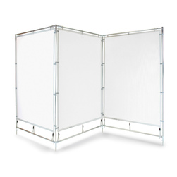 ZigZag Steel Frame Walls 4 ft. x 7 ft.
