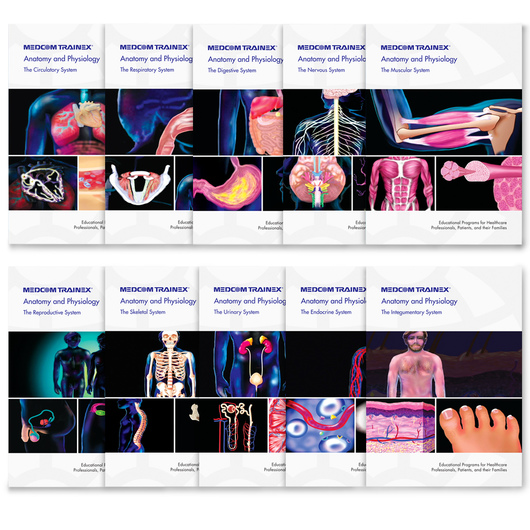 Anatomy & Physiology Complete Series of 10 DVDs