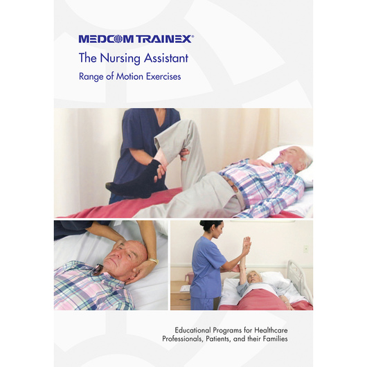 Medcom's Nursing Assistant DVD Series - Range of Motion Exercises
