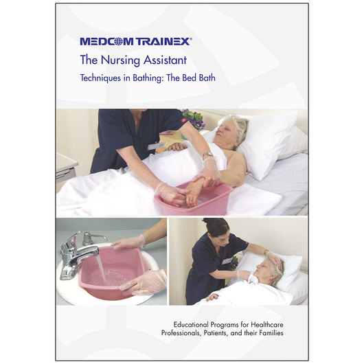 Medcom's Nursing Assistant DVD Series - Techniques in Bathing: The Bed Bath