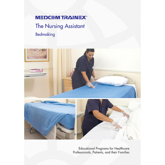 Medcom's Nursing Assistant DVD Series - Bedmaking the Right Way