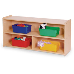 Angeles Value Line Toddler Divided Shelf Storage
