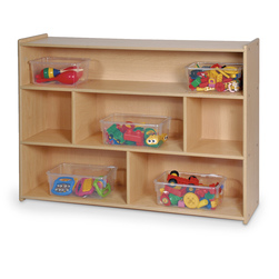 Angeles Value Line School Age Divided Shelf Storage