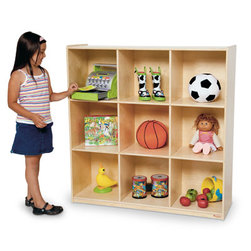 Deep Storage 9-Cubby Unit
