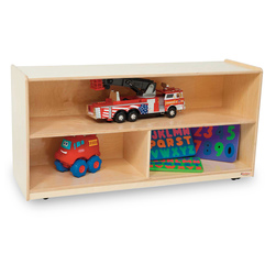 Healthy Kids™ Colors Versatile Storage Shelf Unit -  Natural, 23-1/2 in. H