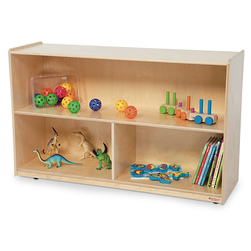 Healthy Kids™ Colors Versatile Storage Shelf Unit - Natural, 30 in. H