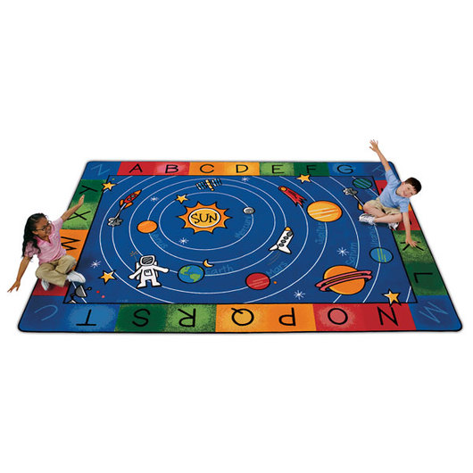 Milky Play Literacy Rug - Rectangle, 5 ft. 10 in. x 8 ft. 4 in.
