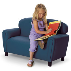 School Age Enviro-Child Upholstery Furniture - 12 in. H Seat Sofa