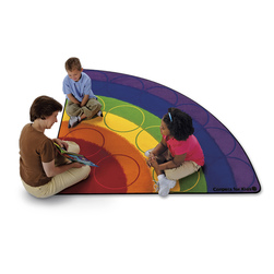 Carpets for Kids® Rainbow Rows Rug