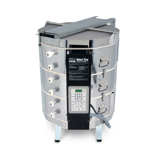 AMACO® EXCEL® Kiln - Model EX-270SF - with Select Fire™ (SF) Kiln Control and EZ-Lift - 240V - 3 Phase