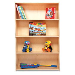Contender Open-Shelf Multipurpose Storage Unit