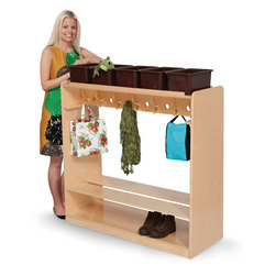 Natural Environments Mobile Double-Sided Locker