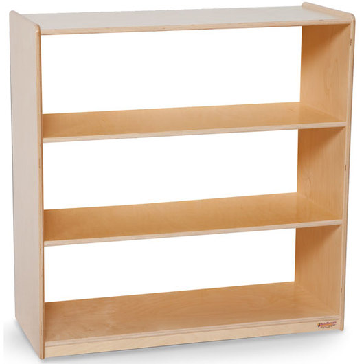 Wood Designs™ NaturalEnvironments Bookshelf with Acrylic Back - 36-3/4  H