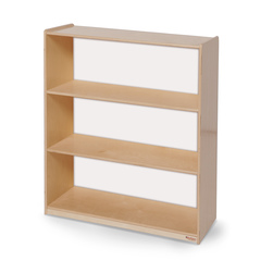 Wood Designs™ NaturalEnvironments Bookshelf with Acrylic Back