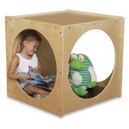 Natural Environments Imagination Cube with Cushion