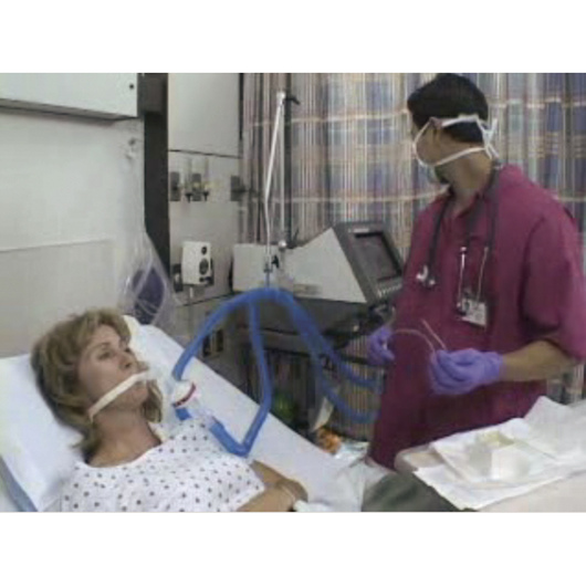 Airway Care: Tracheostomy Care, Tube Change, and Artificial Airway Cuff Management DVD