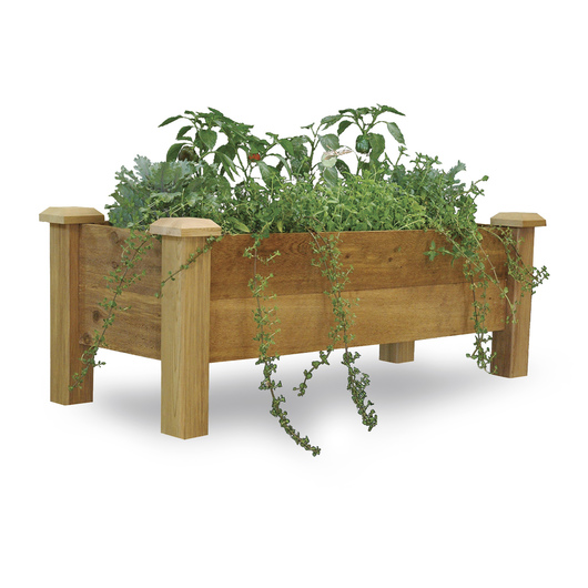 Gronomics® - Taking Gardening to New Heights - Rustic Planter Box