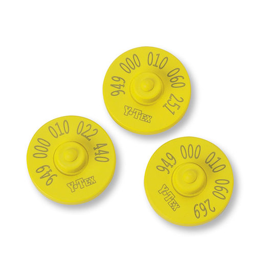Y-TEX® FDX 949 RFID Button Tags