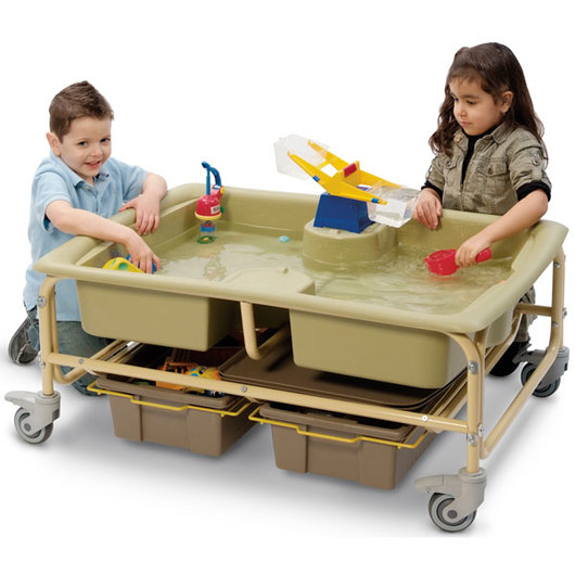 Sand and Water Sensory Center - Earth Colors