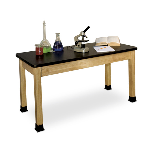 Allied Hardwood Chemsurf™ - Topped Science Table, 24 x 60