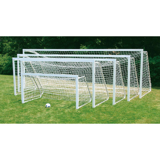 Jaypro Club Soccer Goal Nets - Pair, 6 ft. 6 in. H x 18 ft. 6 in. W