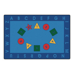 Kids Value Rugs™ 6 ft. x 9 ft., Early Learning