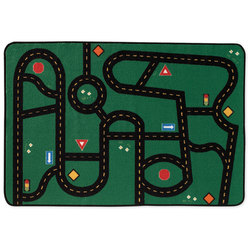 Kids Value Rugs™ - Go-Go Driving