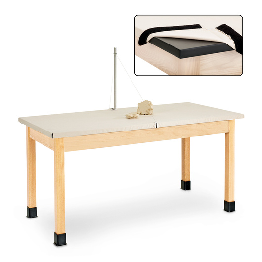 Clay Wedging Table 60 In W X 30 In D X 30 In H