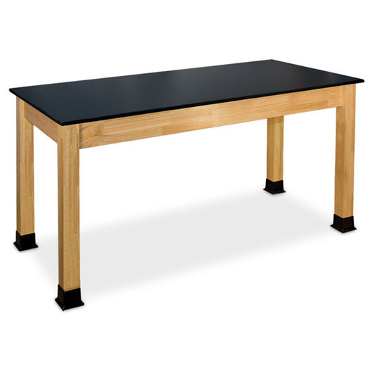 Allied Hardwood Phenolic-Topped Science Table - 24 in. x 48 in.