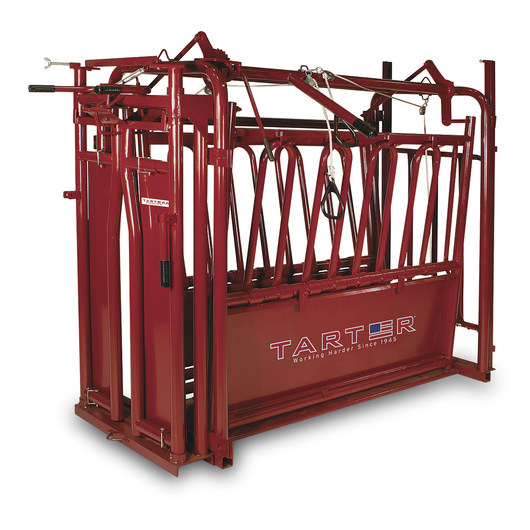 Cattleman Squeeze Chute with Automatic Head Gate