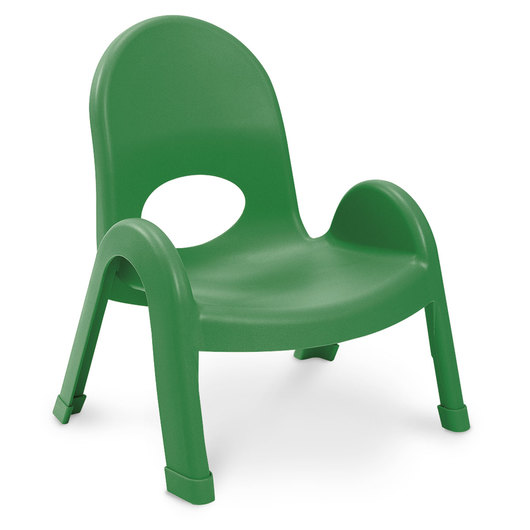 Angeles® Value Stack™ Chair - 7 in. H - Shamrock Green