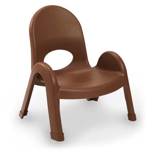 Angeles® Value Stack™ Chair - 7 in. H - Cocoa