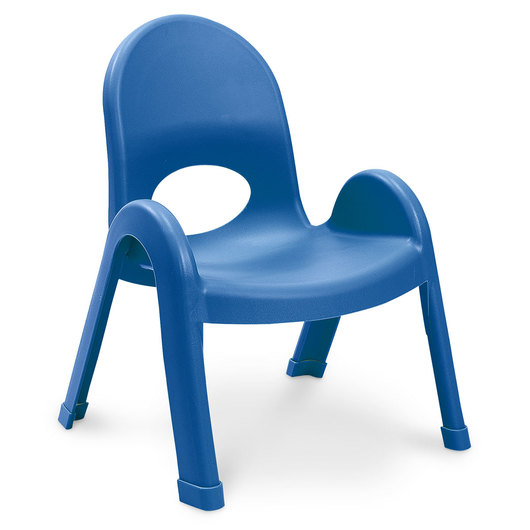 Angeles® Value Stack™ Chair - 9 in. H - Royal Blue