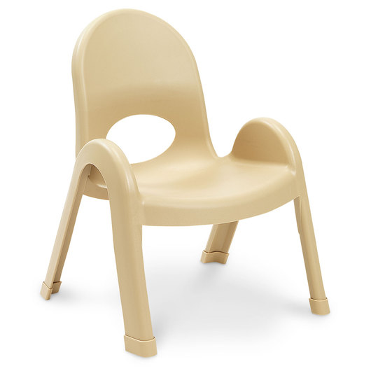 Value Stack™ Chair, 9 H, Natural Tan