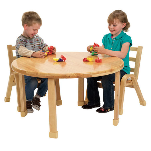 Angeles® NaturalWood® Preschool Collection - Round Table - 36 in. dia. - 16 in. H