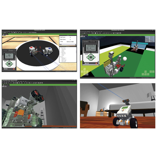 STEM Virtual Robotics Toolkit Software Download - Classroom License for 30 Users