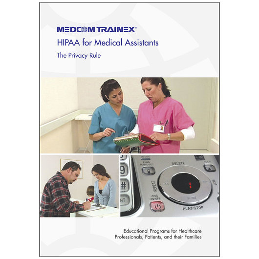 HIPAA for Medical Assistants - The Privacy Rule DVD