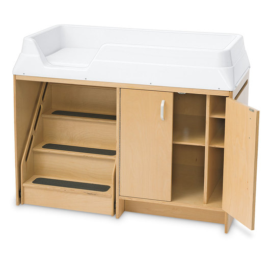 Angeles® Changing Table with Locking Stairs