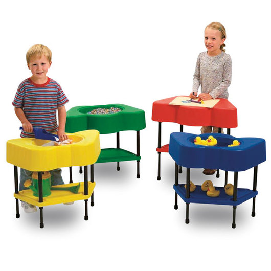 Angeles® Sensory Table Four-Station Set