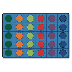 Carpets for Kids® Seating Circles - 6 ft. x 9 ft.